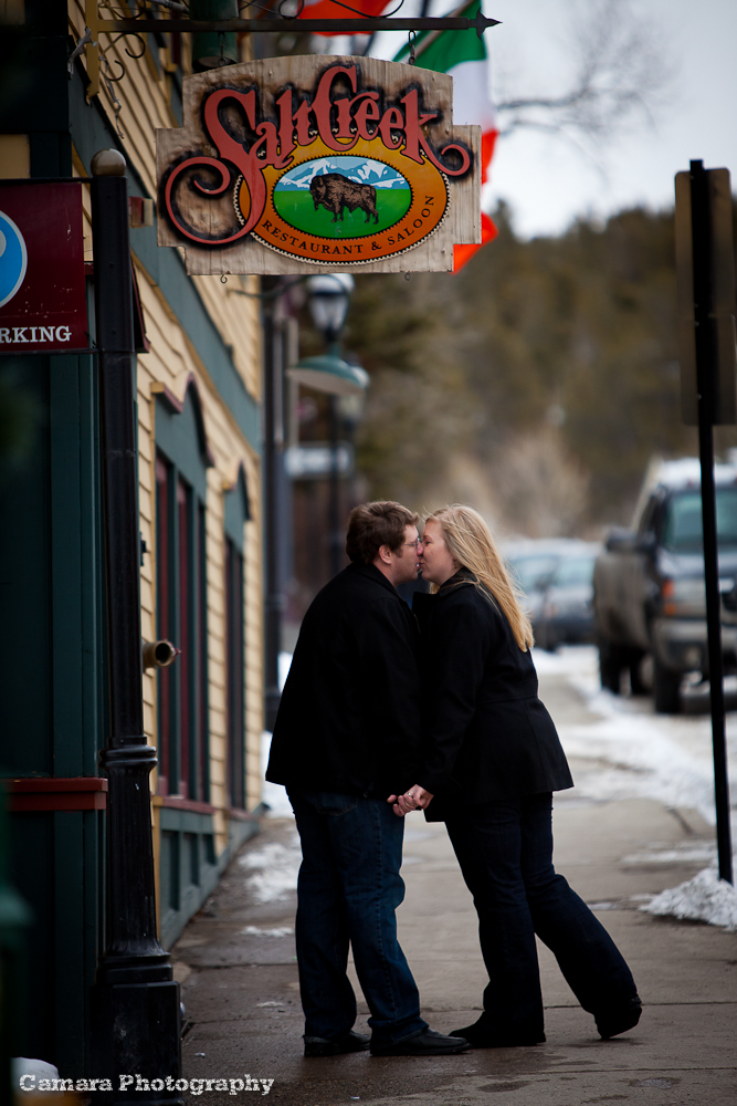 Breckenridge Engagement Shoot