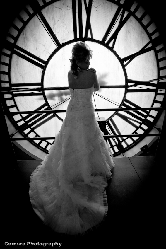 Clocktower wedding